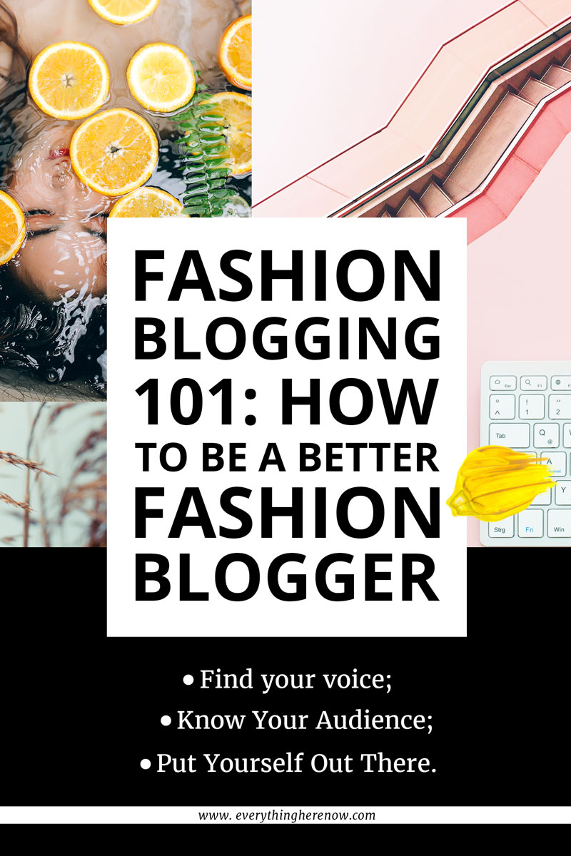 Fashion Blogging 101 Pinterest