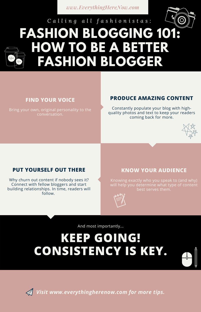 Fashion Blogging 101: How To Be A Better Fashion Blogger