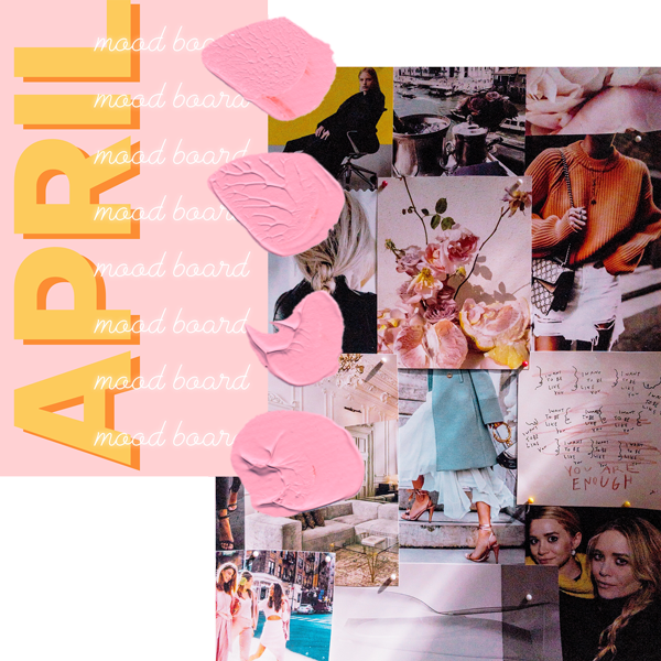 Mood Board Inspiration and digital collage for inspiration