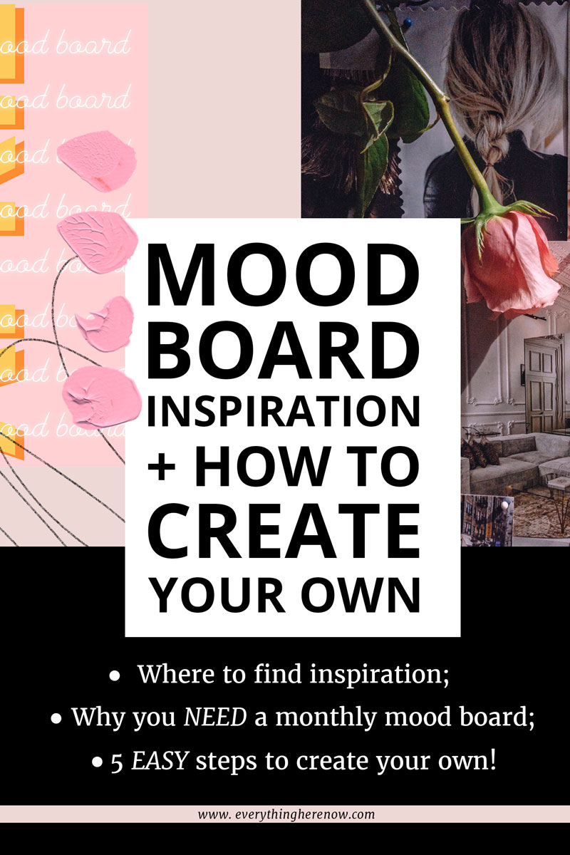 Mood Board Inspiration Pinterest Graphic 2