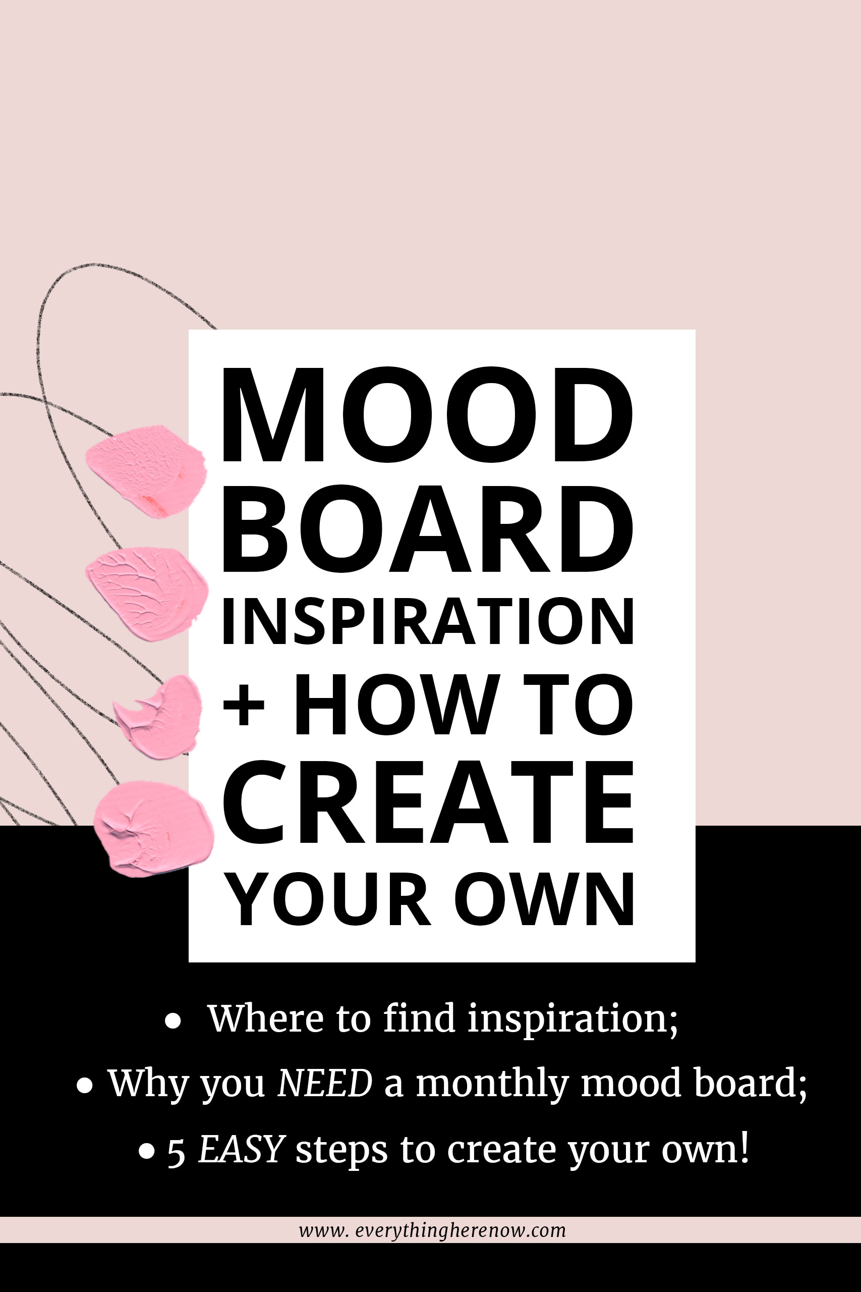 Mood Board Inspiration Pinterest Graphic 3