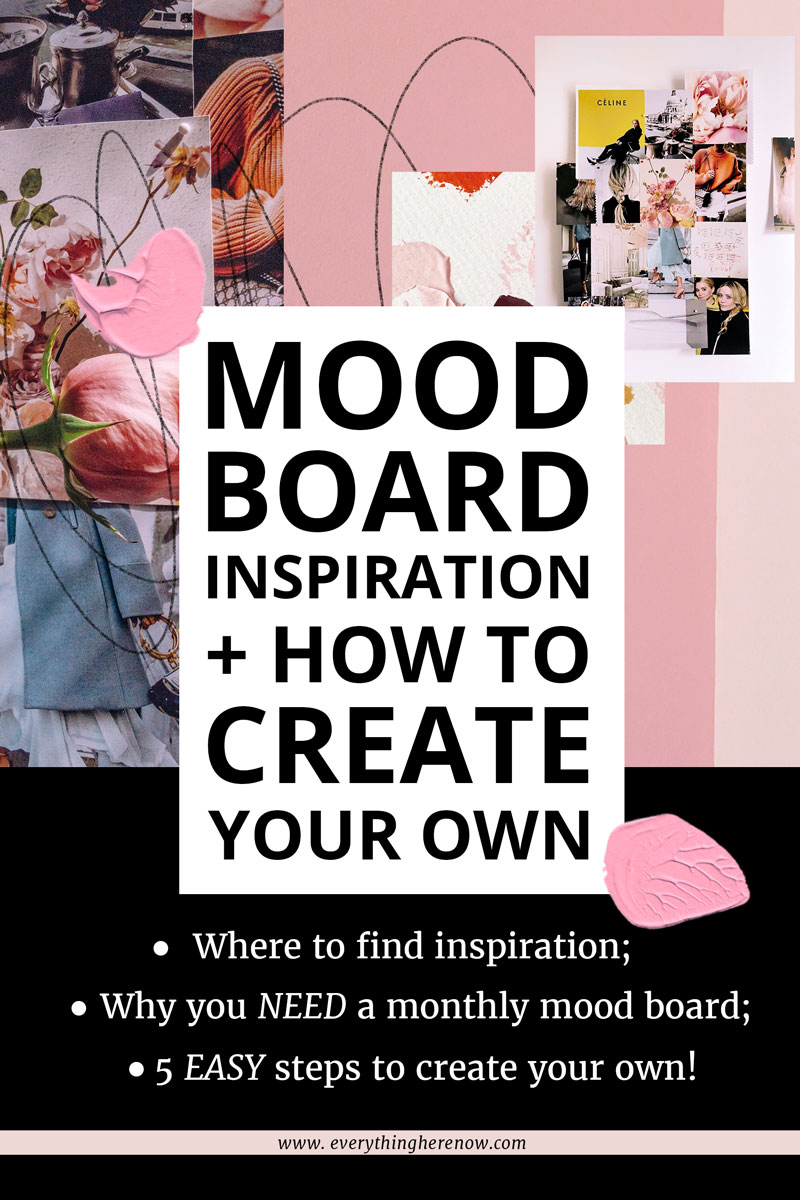 Mood Board Inspiration Pinterest Graphic