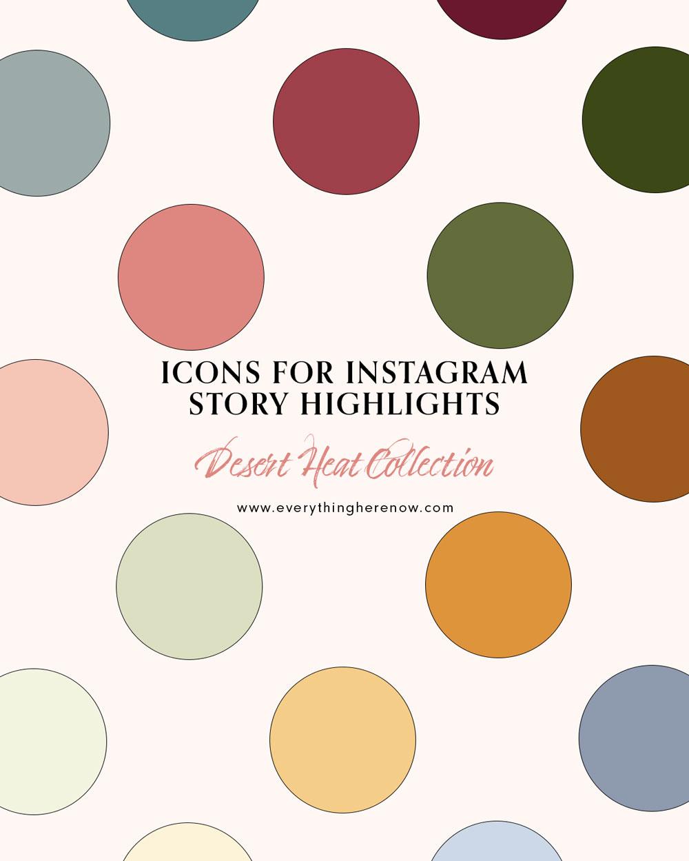 Icons for Instagram Story Highlights: Desert Heat Collection #instagram #instagramhighlights #icons Icons for Instagram Story Highlights: Desert Heat Collection #instagram #instagramhighlights #icons https://everythingherenow.com/shop/