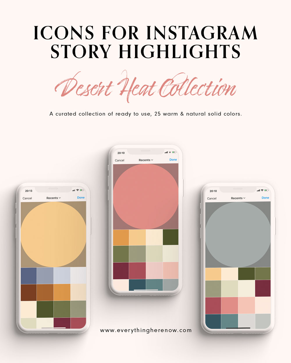 Icons for Instagram Story Highlights: Desert Heat Collection #instagram #instagramhighlights #icons Icons for Instagram Story Highlights: Desert Heat Collection #instagram #instagramhighlights #icons https://everythingherenow.com/shop/