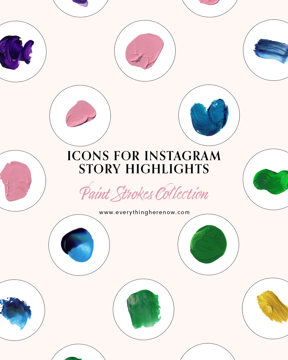Icons for Instagram Story Highlights: Desert Heat Collection #instagram #instagramhighlights #icons Icons for Instagram Story Highlights: Paint Strokes Collection #instagram #instagramhighlights #icons https://everythingherenow.com/shop/