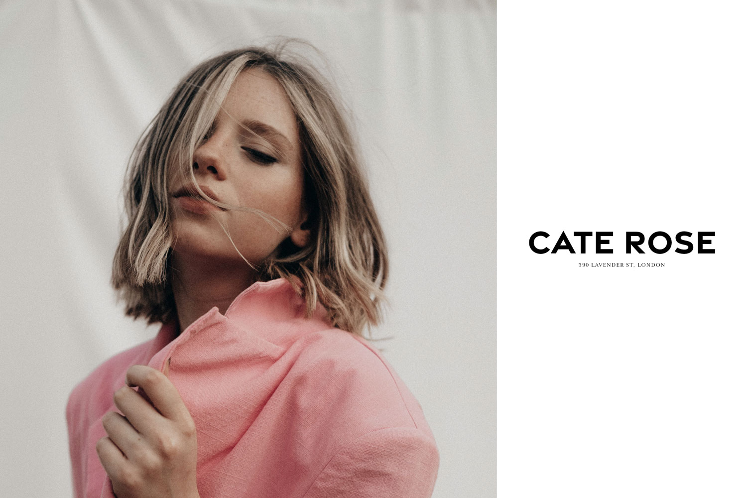 Cate Rose Brand Ad Mockup by Everything Here Now